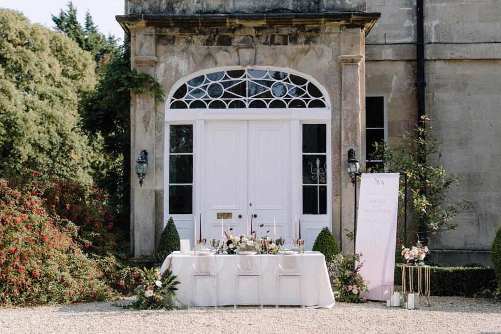small wedding venue somerset
