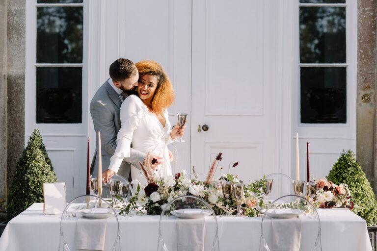 country house wedding reception
